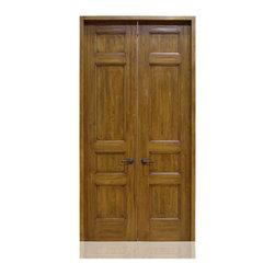 Craftsman Collection | 1767 | 4-7 - Species: Superior Alder, Distress: Sierra, Hinges : 8.-  Ball Bearing Hinges ORB, Interior Door