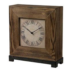 Sterling Industries - Wood Veneer Clock - Wood Veneer Clock