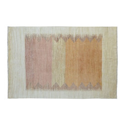 1800-Get-A-Rug - Oriental Rug Modern Gabbeh Hand Knotted Rug Sh9553 - About Modern & Contemporary