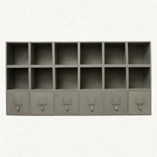 wall shelves by Terrain