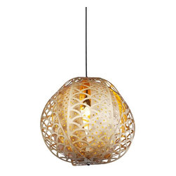 ParrotUncle - Modern Designer Wood Carved Cloud Suspension Lamp - Modern Designer Wood Carved Cloud Suspension Lamp