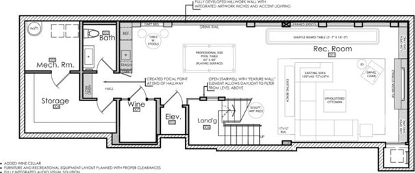 Floor Plan Basement of the Week: Trains, Skateboards and Games ----