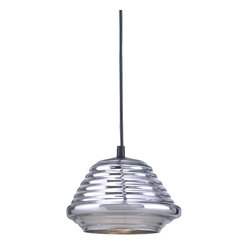 Bromi Design Hive 1-Light Glass Pendant
