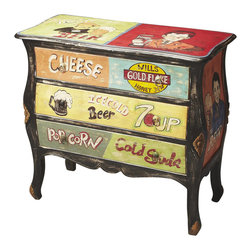 Butler - 3-Drawer Accent Chest - Made from mango wood