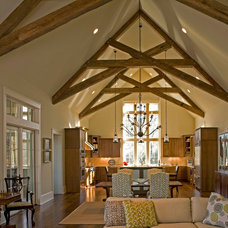 Traditional Living Room by Geoff Chick & Associates