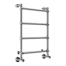 "Mr. Steam - Mr Steam Wallmount Hydronic Hot Towel Warmer In Polished Chrome H542PC - Features: 27""H x 23 3/4""W x 5""D"