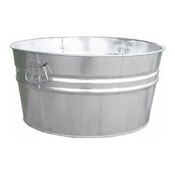 Witt 76 qt. Galvanized Tub- 6 Pieces - The Witt 76 qt. Galvanized Tubis a classic tub with lasting style. Crafted of pre-galvanized steel this tub features a recessed bottom drop side handles a wire-reinforced rim and a silicone-sealed bottom. About Witt IndustriesWith its rich and established history in the steel waste receptacle manufacturing industry that dates back to 1887 Witt Industries has been in the forefront with its innovation quality and service. The company's founder George Witt invented and patented the first corrugated galvanized ash can and lid back in 1889 and the company has never looked back. Today Witt Industries is part of the Armor Metal Group and is a woman-owned business.