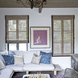 Smith and Noble Natural Woven Flat Fold Shades - Natural Woven Shades are the perfect blend of versatility and texture, making them ideal for all spaces. Starting at $109+