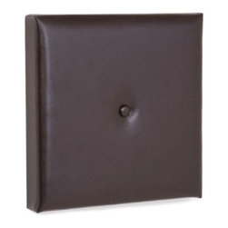 Upholstered Button 2 in. Wall Pixel - 16W x 16H - Take your wall decor beyond wreaths and pretty pictures - the Upholstered Button 2 in. Wall Pixel - 16W x 16H adds depth, dimension, and a fashion-forward look you (and your room) will love. Two inches thick, this wall pixel is made of microsuede in a full range of colors - finding that perfect hue definitely won't be a problem. A button tuft in the center adds a cozy touch, and the peel-and-stick back makes installation a breeze. Order several to create eye-catching wall arrangements or even a headboard for your bed. Made in the USA.About the Howard Elliott Collection.The Howard Elliott Collection is one of the premiere manufacturers of decorative mirrors and accessories in the home furnishings industry. Howard Elliott offers innovative designs in a wide variety of styles, and the company prides itself on its high standards and quality. No matter your style, the Howard Elliott Collection offers pieces that are sure to add sophistication and luxury to your decor.In the company's meteoric rise, it now ships to nearly 3,500 furniture, home furnishings, and lighting retailers as well as many of the top contract companies servicing the hotel and building industries worldwide.