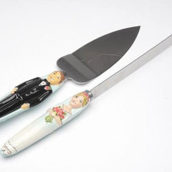 "ATD - 5 Inch Long ""Marry Me"" Bride Cake Knife and Groom Cake Server Set - This gorgeous 5 Inch Long ""Marry Me"" Bride Cake Knife and Groom Cake Server Set has the finest details and highest quality you will find anywhere! 5 Inch Long ""Marry Me"" Bride Cake Knife and Groom Cake Server Set is truly remarkable."