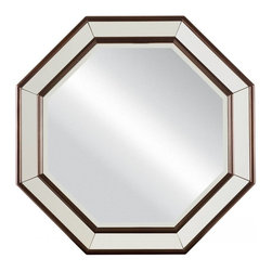 Stanley - Hudson Street Octagonal Mirror - Hudson Street reflects a vibrant and metropolitan self-assured elegance. Exhibiting an air of confidence and a casual touch of glamour, the group appeals to those with a heightened sense of style.