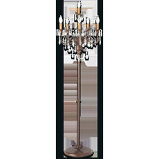 6 Light Floor Candelabra | Arhaus Furniture