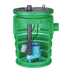 """Little Giant - Little Giant 9S-Smpx-Lg Simplex Sump Pump Package - Little Giant 9S-Smpx-Lg Is A 20"""" X 30"""" Structrual Foam Basin,  2 Piece Cover And Pump. This Package Is Ideal For Collection Of Sewage, Effluent, Drainage And Seepage Water. Suitable For Homes, Farms, Light Commercial And Industrial Use. Pre-Assembled Unit Is Provided Completely Assembled And Ready To Be Installed."""