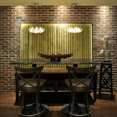 Eclectic Dining Room by Savvy Surrounding Style