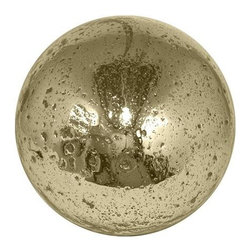 Home Decorators Collection - Hammered Mercury Glass Orb - Our Hammered Mercury Glass Orb is a unique table accent ideal for filling a decorative bowl or tray and becoming a centerpiece for a coffee or console table. Our orb features a gold finish with hammered details. Made of mercury glass. Gold finish.
