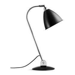 Bestlite - Bestlite BL2 Table Lamp - Bring brilliant design to the table with Robert Dudley Best's lovely lamp. Radiant in sleek chromed metal and powder-coated aluminum, this modern masterpiece epitomizes effortless elegance.