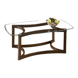 Jofran - Jofran 107 Bellingham Brown 3-Piece Glass Top Occasional Table Set - The simplicity and elegance, style and practicality - these are the main theses of Occasional tables by Jofran Inc. Among the great variety of collections you can choose the one that best suits your apartment, and that is to your liking. This Bellingham brown 3 Piece Cocktail table Set belongs to 107 Series - Bellingham brown collection by Jofran Inc. The classic formulas of color combinations are not valid in Jofran Furniture territory: here is ruled by laws solely of your own preferences and fantasies. Huge selection of colors in combination with a wide choice of shapes and sizes allow you to find among this variety precisely the furniture you've always wanted to see in your home. Jofran Furniture offers high quality, casual furniture pieces that are constructed from premium Asian hardwoods, and finished with beautiful veneers. Durable materials and quality assembly will help your furniture to serve for many years and will not let you be disappointed in your choice.