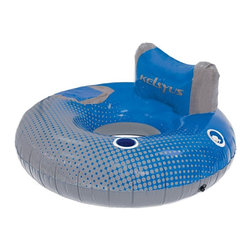 Kelsyus - Kelsyus River Rider Multicolor - 80190 - Shop for Floats and Toys from Hayneedle.com! Set yourself afloat with the Kelsyus River Rider for a relaxing day on the water. Made from durable heavy-gauge PVC this float can handle some abuse. It has a comfy backrest cup holder and even a cooler to keep those drinks frosty. The Boston valves means that this floats inflates and deflates in seconds.About SwimWays Based in Virginia Beach Virginia SwimWays has one mission: make free time more fun through innovation. They provide your family with pool toys floats decorations games and even swim training gear to make sure you have no ordinary day at the pool. With over 35 000 storefronts and offices in Hong Kong and the United States SwimWays diverse staff is dedicated to bringing you the best. Safety is their priority helping to teach kids to swim for over 40 years with an innovative line of swim-training products. SwimWays is here to help and stands by their products every step of the way.