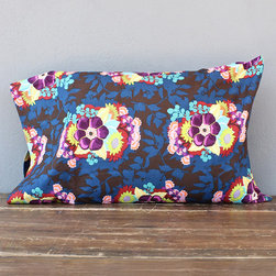 idlewild: vivid ink pillowcases - pair - view this item on our website for more information + purchasing availability: http://redinfred.com/shop/category/free-shipping/vivid-ink-pillowcases/