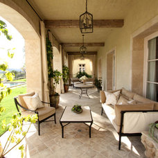 Mediterranean Patio by Bliss Design
