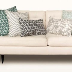 COCOCOZY Sofa - Gray and Sea Green pillows compressed.jpg