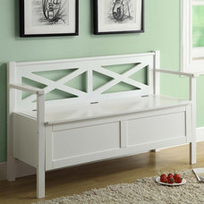 Contemporary Accent And Storage Benches by Lowe's