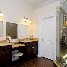 Eclectic Bathroom by DB Developments, Inc.