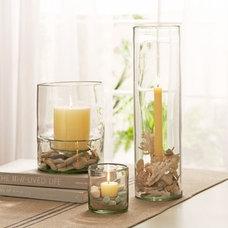 Glass Display Hurricanes