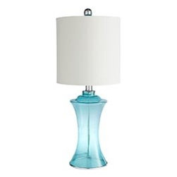 Pier 1 Imports - Product Details - Sea Glass Lamp - Sea Glass Lamp $50 Pretty yet practical, our Sea Glass Lamp will brighten your life as well as your room.   Great way to add some blue to your space.