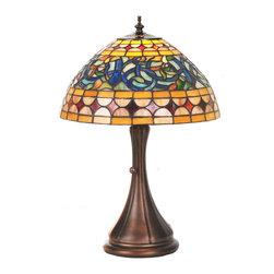 """Meyda Lighting - Meyda Lighting 85648 18""""H Tiffany Tavern Accent Lamp - Meyda Lighting 85648 18""""H Tiffany Tavern Accent Lamp"""