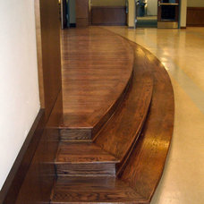 Traditional Wood Flooring by OC Stairs