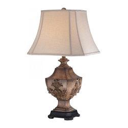 Minka-Lavery - Minka-Lavery 1-Light Table Lamp - 13023-0 - Illumination