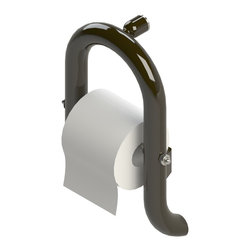 Invisia - Invisia Luxurious Toilet Paper Holder with Integrated Support Rail, Oil Rubbed B - Invisia Luxurious Toilet paper Holder with Integrated Support Rail
