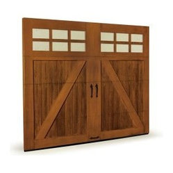 Canyon Ridge Faux Wood Garage Doors