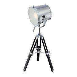 Lite Source - Lite Source LS-22337 Trey 1 Light Table Lamp - Features: