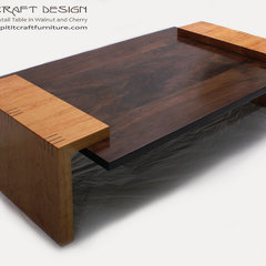 modern coffee tables by Spiritcraft Fine Furniture and Cabinet Makers