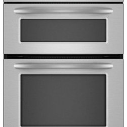 """KitchenAid - Architect Series II KEHU309SSS 30"""" Microwave Combination Double Wall Oven with 4 - 30 Built-In MicrowaveOven Combination Dual-fan convection with steam-assist technology provides even heating and enhances flavor and texture"""