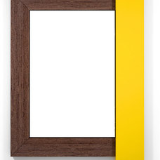 Contemporary Mirrors by WoodnGo