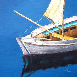 Roweboat Art Inc. - Calm Water, Fine Art Reproduction Print, 12X16 - Original art reproduction