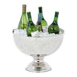 Eichholtz Oroa - Champagne Bucket, Polished Nickel - Polished nickel finish