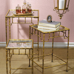 asian side tables and accent tables by Layla Grayce