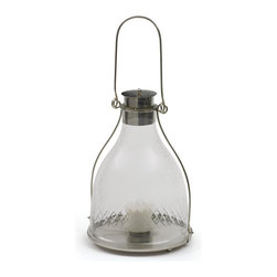 Go Home - Suave Hurricane - Suave Hurricane like lantern it has handle that allow ease in handling.Place a candle in it and hang it your favorite room where you want to add extra light.
