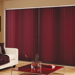 Vinyl Vertical Blinds - Vinyl Vertical Blinds-Classic and Fashionable: Starting at $35.05 at Shades Shutters Blinds!
