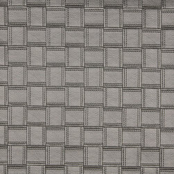 Silver Basket Woven Upholstery Faux Leather By The Yard - This faux leather material is great for all indoor upholstery applications including residential and commercial. This pattern is uniquely made to combine luxury with durability. Our faux leathers are stain resistant, and easy to clean with mild soap and water.