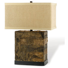 Rustic Table Lamps by Kathy Kuo Home