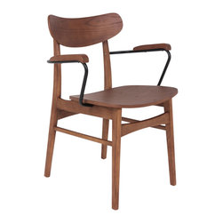 #N/A - Olga Chair - Olga Chair. Solid ash wood construction with stretchers for extra durability