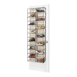 Whitmor Over The Door Shoe Shelves Store Up To 26 Pairs Of Shoes In This Space Saving And