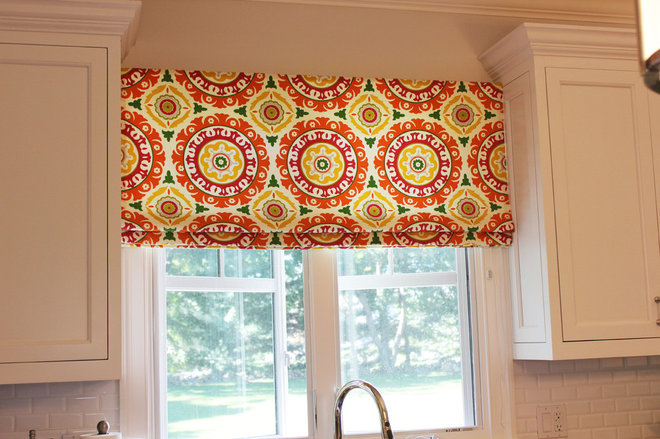 Modern Curtains by Lynn Chalk