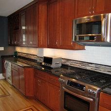 Transitional Kitchen by Glickman Design Build, LLC