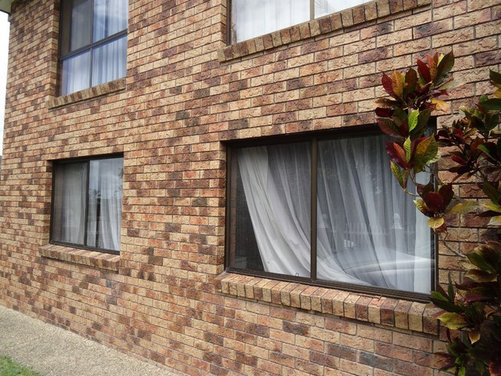 Dealing with a 70 39 s brick house for 70s house exterior makeover australia